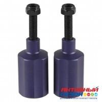 Пеги н-р (две пегги и две оси) G2  фиолетовый, синий, черный