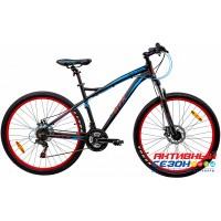 """Велосипед GTX JULIET 2702 (27,5"""", 21 скор.) (Р-р= 18"""";  Цвет: Черный)"""