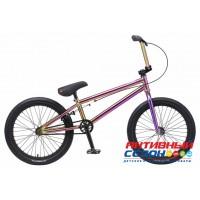 """Велосипед BMX TechTeam Millennium 20"""" (Р-р= 20,5 """" Цвет: Бензин, Зеркальный) Рама Сталь"""