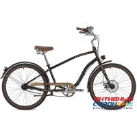 """Велосипед Stinger CRUISER ANSV NEXUS MEN (26"""", 7 скор.) (Р-р= 18""""; Цвет: Черный) Рама Алюминий"""
