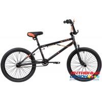Велосипед Stinger BMX ACE 20 (20'' 1 скор.) (Цвет:Черный Матовый) Рама Сталь