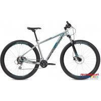 """Велосипед Stinger Reload Std (29"""" 16 скор.) (Р-р =  18"""". 22"""" Цвет: Серебристый, Черный) Рама Алюминий"""