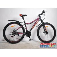 """Велосипед Rook MА260DW (26"""" 21 скор.) (Цвет: черный/розовый) Рама алюминий"""