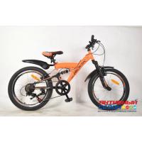 "Велосипед Rook TS200 (20"" 7 скор.) (  Цвет: оранжевый) Рама сталь"