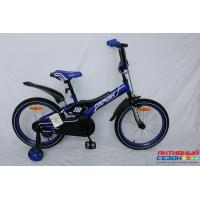 """Велосипед Rook Motard (18"""" 1 скор.) (  Цвет: синий) Рама сталь"""