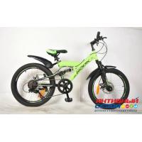 "Велосипед Rook TS200D (20"" 7 скор.) (  Цвет: зеленый) Рама сталь"