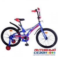 Велосипед детский Mustang 20 (сине-красный)