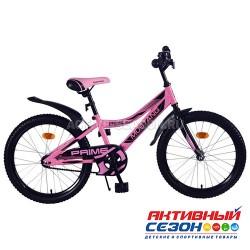 """Велосипед подростковый Mustang prime 20"""" (розово-черный)"""