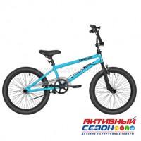"""Велосипед RUSH HOUR DRIVE В 20"""" (BMX)(Цвет: голубой) Рама сталь"""