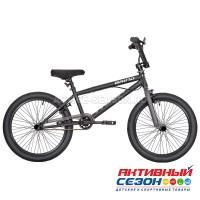 """Велосипед RUSH HOUR GRIND В 20"""" (Цвет: черный) Рама сталь"""