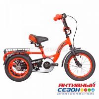 """Велосипед 14"""" RUSH HOUR ENERGY трехколесный оранжевый"""