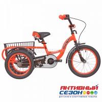 """Велосипед 16"""" RUSH HOUR ENERGY трехколесный оранжевый"""