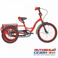 """Велосипед 20"""" RUSH HOUR ENERGY трехколесный оранжевый"""