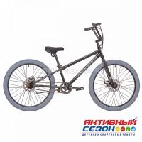 """Велосипед RUSH HOUR GORILLA (24"""" 1 скор) (р-р 13"""" Цвет черный)  Рама сталь"""