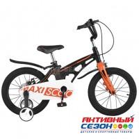 """Велосипед  детский Maxi Scoo """"Cosmic""""  16"""" Стандарт (Черный Матовый)"""
