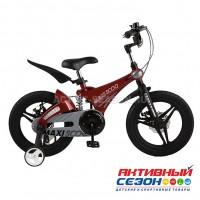 """Велосипед  детский Maxi Scoo  """"Galaxy"""" 14"""" Делюкс плюс (Красный)"""