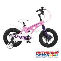 """Велосипед  детский Maxi Scoo """"Cosmic"""" 18"""" Делюкс (Розовый Матовый)"""