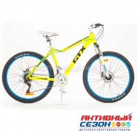 "Велосипед GTX JULIET 10 (26"", 21 скор.) (Р-р= 17,5"";  Цвет: Желтый)"
