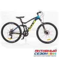 """Велосипед GTX MOON 2703 (27,5"""", 21 скор.) (Р-р= 19"""";  Цвет: Черный)"""