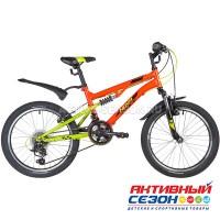 """Велосипед NOVATRACK TITANIUM (20"""" 12 скор.) (Красный) Рама Сталь"""