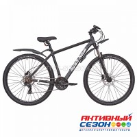 "Велосипед RUSH HOUR XS 930 HDISC AL (29"" 21 скор) (Р-р 19"", 21"" Цвет черный)  Рама алюминий"