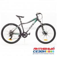 """Велосипед GTX ALPIN 1.0 (26"""", 21 скор.) (Р-р= 17"""",19"""";  Цвет: Черный)"""