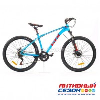 """Велосипед GTX ALPIN 2601 (26"""", 21 скор.) (Р-р= 17"""",19"""";  Цвет: Синий, Черный)"""
