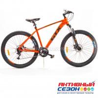"""Велосипед GTX BOOST 2702 (27,5"""", 24 скор.) (Р-р= 19"""";  Цвет: Черный, Оранжевый)"""