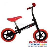 Беговел Adventure (рег.руль и сиденье, колеса EVA-30,5см, макс.нагр.27кг, 2-5 лет), (Indigo) красный