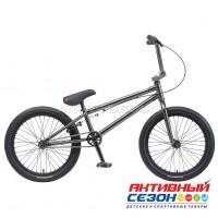 """Велосипед BMX TechTeam Millennium 20"""" (Р-р= 20,5 """" Цвет: Зеркальный) Рама Сталь"""