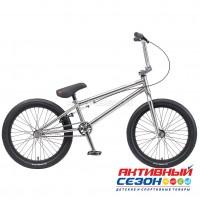 """Велосипед BMX TechTeam Millennium 20"""" (Р-р= 20,5"""" цвет: хром) Рама Сталь"""