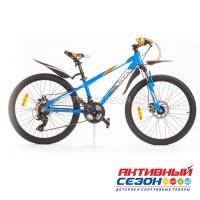 """Велосипед GTX TROPHY (24"""", 21 скор.) (Р-р= 12"""", Цвет: Синий-оранжевый)"""
