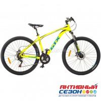 "Велосипед GTX ALPIN 2701 (27,5"", 21 скор.) (Р-р= 17"", 19"";  Цвет: Желтый, Синий)"