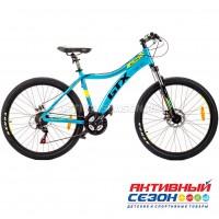 """Велосипед GTX ALPIN L (26"""", 21 скор.) (Р-р= 17,5"""";  Цвет: Синий, Белый)"""