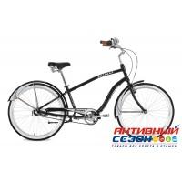 """Велосипед Stinger Cruiser NEXUS M (26"""" 3 скор.) (Р-р = 18""""; Цвет: Коричневый; Черный) Рама Алюминий"""