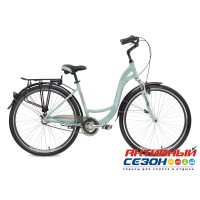 "Велосипед Stinger Barcelona STD (28"" 3 скор.) (Р-р = 15"", 17""; Цвет: Зеленый) Рама Алюминий"