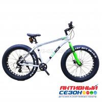 """Велосипед TechTeam Attack Fat (26"""", 8 скор.) (Р-р= 15"""", 19"""", Цвет: Зеленый) Рама алюминий"""