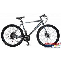 "Велосипед TechTeam Lavina (28"", 21 скор.) (Р-р= 20""; Цвет: Серый) Рама алюминий"