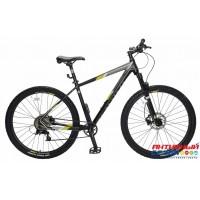 """Велосипед TechTeam Lavina (29"""", 8 скор.) (Р-р= 19"""", 22""""; Цвет: Черный) Рама алюминий"""