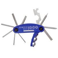 Ключи шестригранные STG  KL-9802 набор складной, 15 в одном