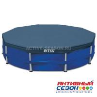Тент на каркасный бассейн, d=366 см, 28031 INTEX