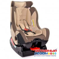 Автокресло LB 718 RF (Teddy Bear) ПК (55. BEIGE+BROWN)