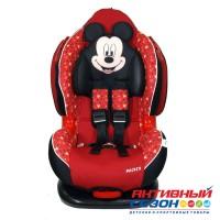 Автокресло для детей «Siger» серия Disney, Кокон ISOFIX, гр. I/II, Микки Маус (звезды красный)