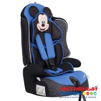 Автокресло для детей «Siger» серия Disney, Драйв, гр. I/II/III, Микки Маус (контур синий)
