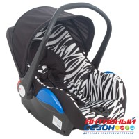 Автокресло Leader Kids ROOMER II (ZEBRA)