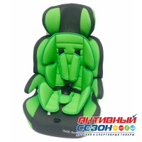 Автокресло LB 515 RF (Teddy Bear) ПК (28. GREEN+BLACK DOT)