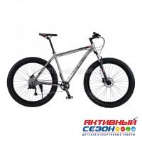 "Велосипед полу-ФЭТБАЙК Time TRY (29""; скор.11) (Цвет: Серый) рама алюминий"