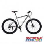 "Велосипед полу-ФЭТБАЙК Time TRY (29""; скор.9) (Цвет: Серый) рама алюминий"