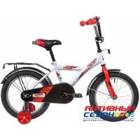 Велосипед Novatrack Astra 16'' (синий; белый)