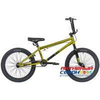 "Велосипед Stinger BMX TORTUGA (20"", 1 скор.) (Р-р= 10"", Цвет: зеленый) Рама Сталь"